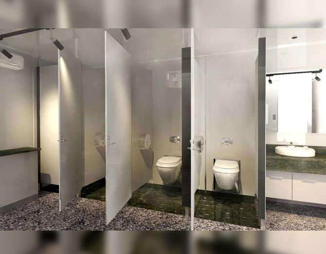 सार्वजनिक शौचालयको ढोकामुनि किन ग्याप हुन्छ ?