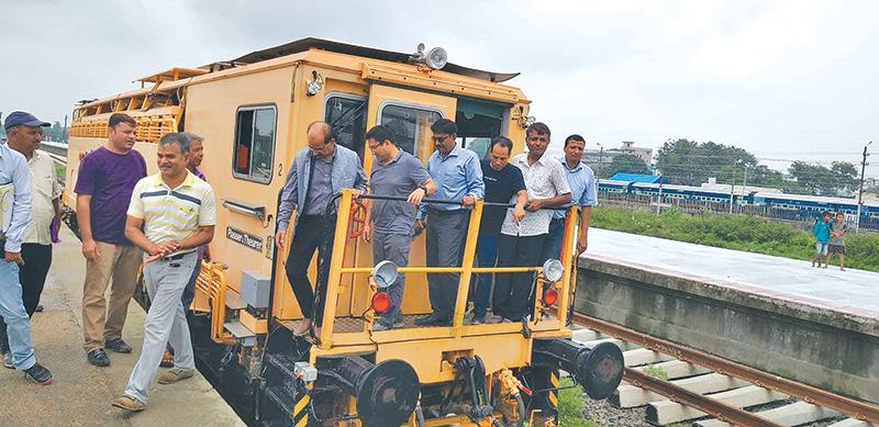 डेढ महिनाभित्र जयनगर–जनकपुर रेलसेवा सञ्चालनमा अाउने