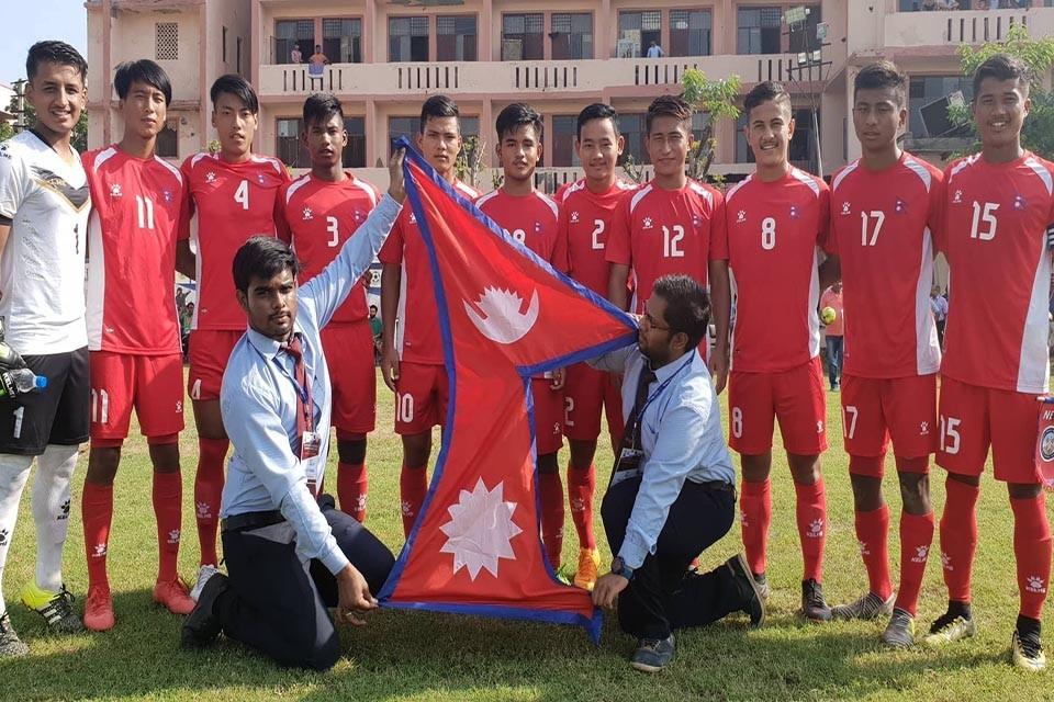 साफ यू - १८ मा नेपाल माल्दिभ्ससँग बराबरीमा रोकियो
