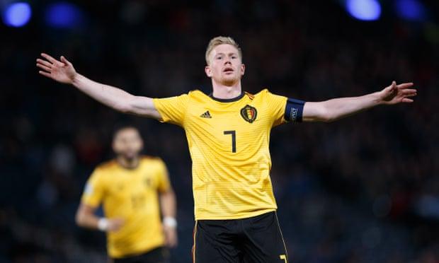 स्कटल्यान्डमाथि बेल्जियमको सानदार जीत, डे ब्रुएनको उत्कृष्ट प्रदर्शन