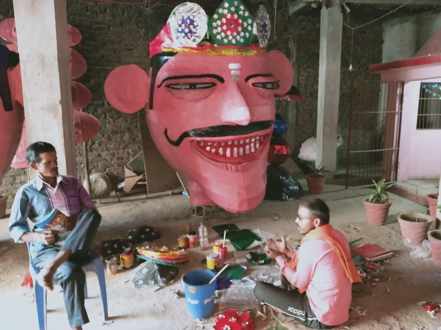 जनकपुरमा रावण बधसहित लंका दहन गरिँदै