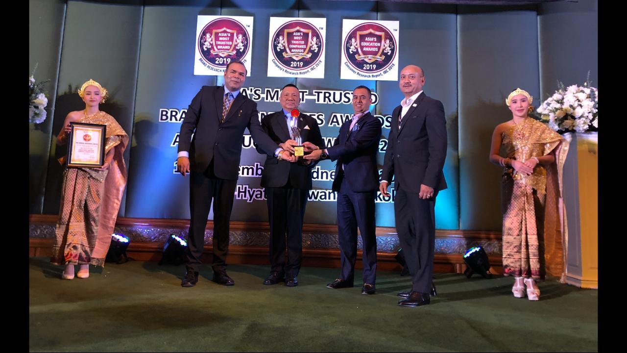 आईएमई जनरल इन्स्योरेन्स 'एसियाज मस्ट ट्रस्टेड कम्पनी अवार्ड'बाट सम्मानित