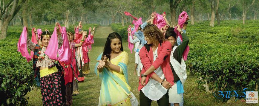 'आरुसी' फिल्मको 'डालीमा...' बोलको गीत रिलिज [भिडियोसहित]