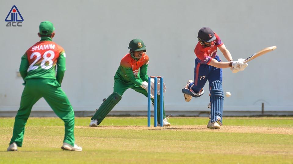 एसिया कपमा सहभागी नेपाली यू-१९ क्रिकेट टोली स्वदेश फिर्ता