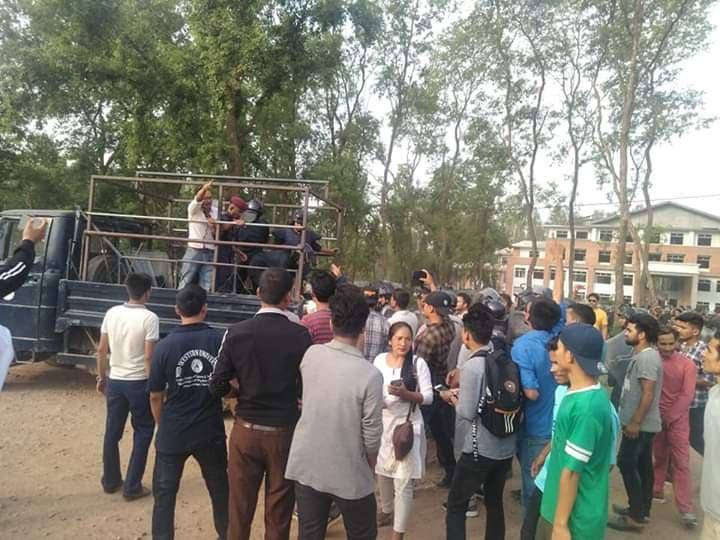 मध्यपश्चिमाञ्चल विश्वविद्यालयमा 'मनपरीतन्त्र' ! विद्यार्थी आन्दोलित
