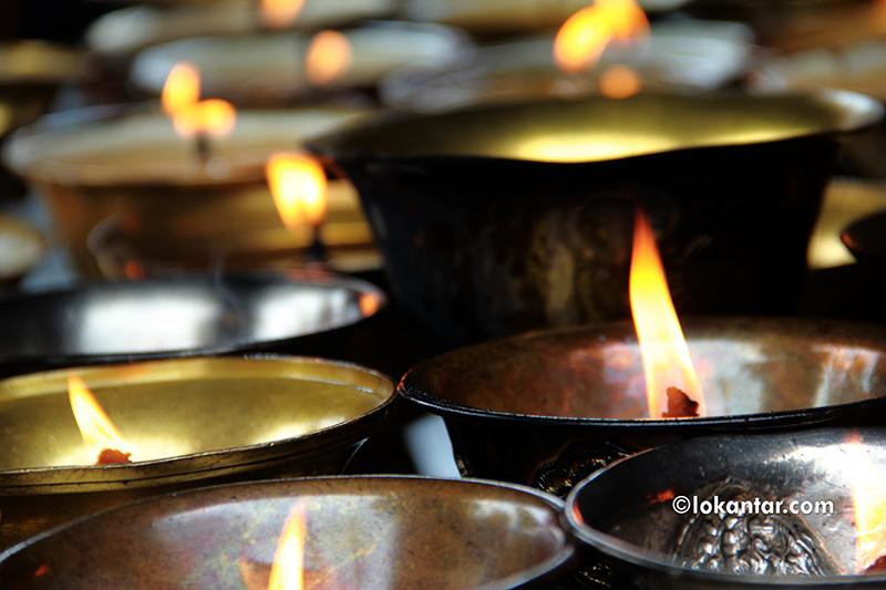 बौद्ध धर्मावलम्बीको गुँलापर्व शुरू, दुर्लभ न्याकुबाजा प्रयोगमा ल्याइने