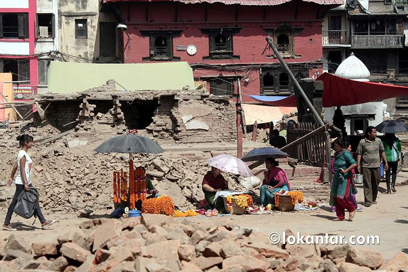 कास्कीमा भूकम्पपछिको पूनर्निर्माण सुस्त, ६ हजार घरमध्ये साढे ३ सय मात्र सम्पन्न