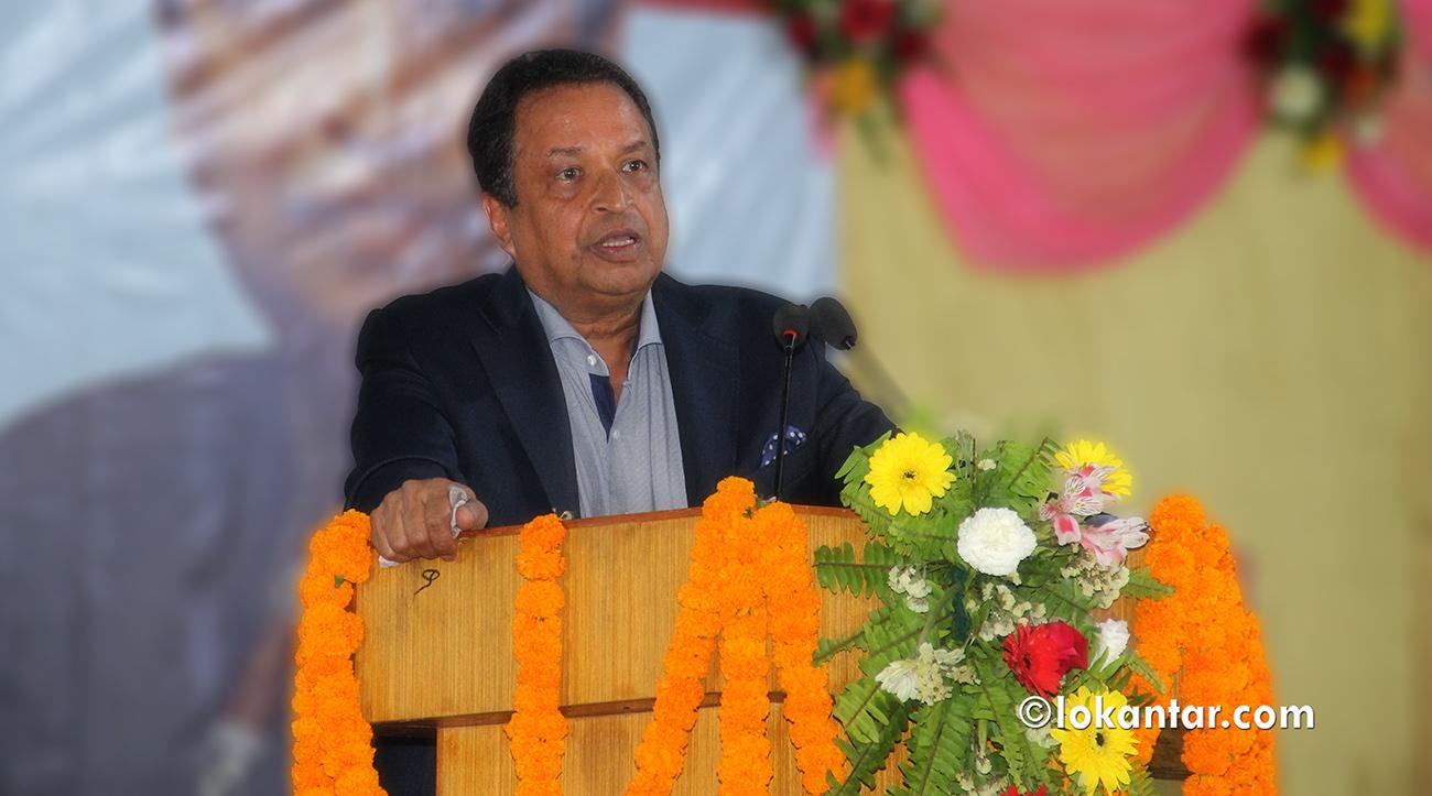 विदेशस्थित नियोग सक्रिय भए नेपालमा आर्थिक क्रियाकलापको बाढी लाग्छ : विनोद चौधरी
