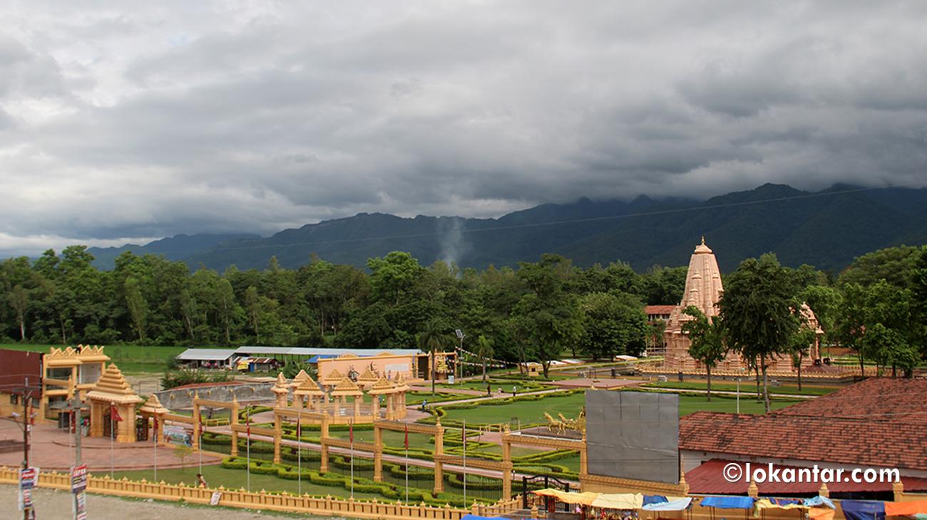 मध्यनेपालकै आकर्षक धार्मिक पर्यटकीय स्थलका रूपमा उदाउँदै शाश्वतधाम