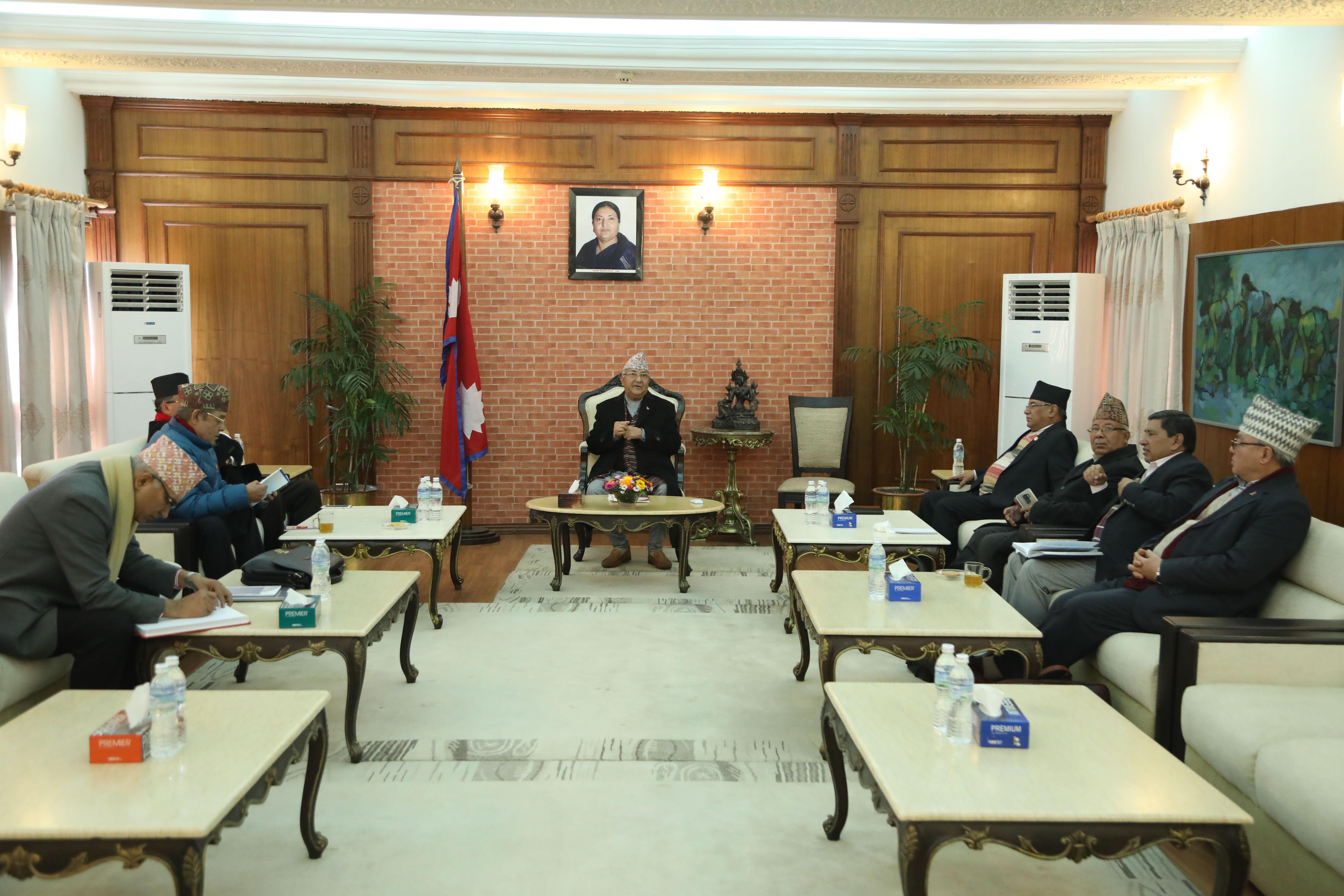 नेकपाको सचिवालय बैठक अनिश्चित : केन्द्रीय सदस्यको कार्यविभाजन र पोलिटब्युरो गठनमा अझै जुटेन सहमति
