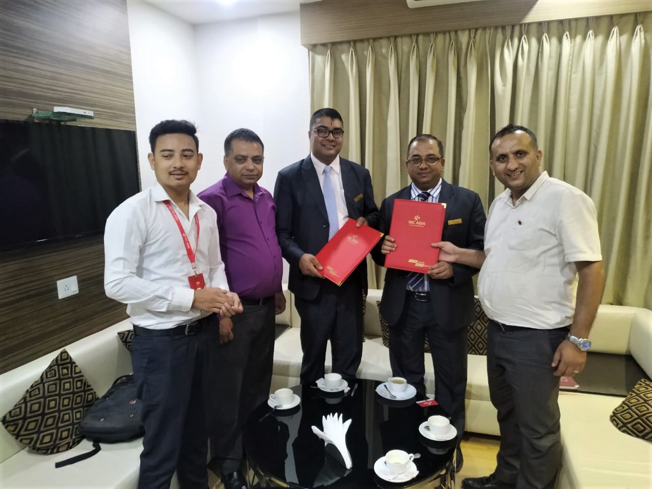 एनआईसी एशिया बैंक र होटल ह्यारिसन प्यालेस विराटनगरबीच सम्झौता