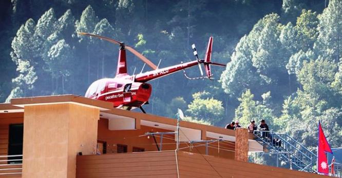 नेकपाका बागीलाई हेलिकप्टरमा निर्वाचन कार्यालय पुर्याइएपनि फिर्ता भएन उम्मेदवारी