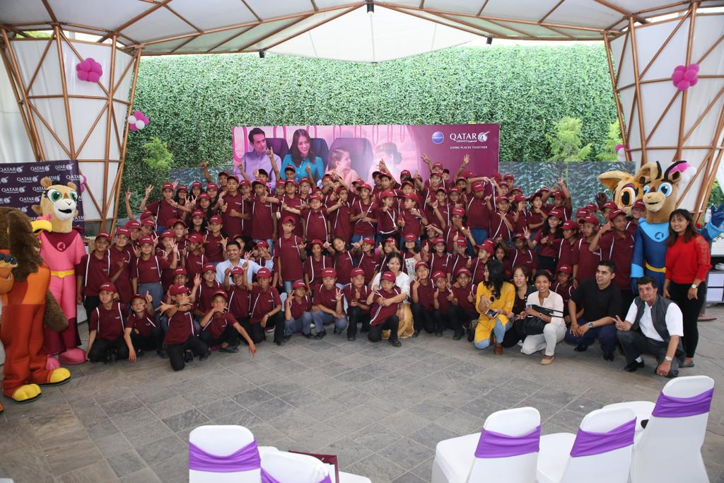 इदमा कतार एयरवेजको बालबालिका लक्षित कार्यक्रम
