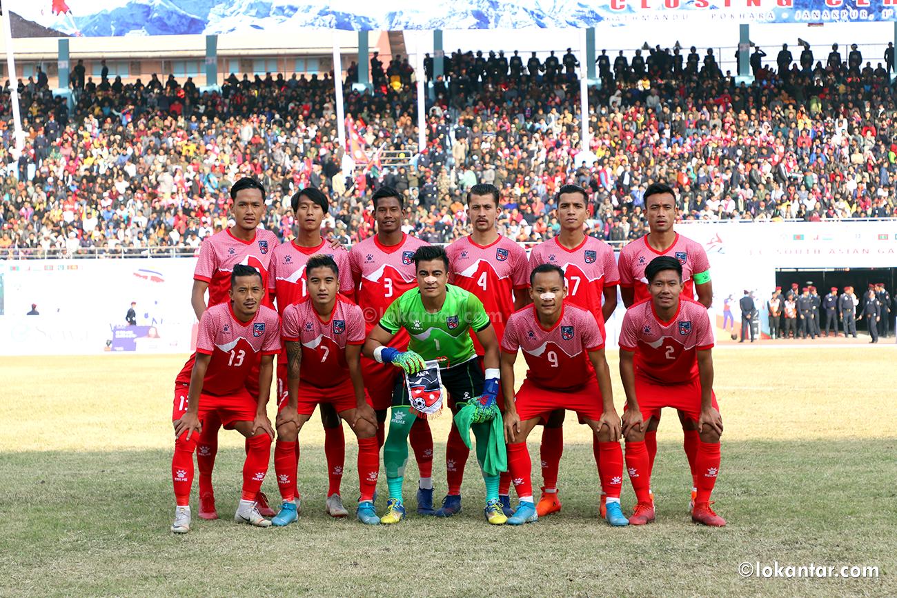 सागमा स्वर्ण विजेता नेपाली टीम