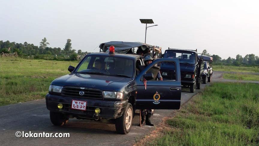काठमाडौंमा पक्राउ परेका सांसद साहलाई जनकपुर ल्याइयो, सुरक्षा व्यवस्था कडा