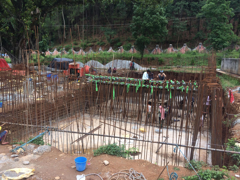 निर्माणधीन नेपालकै लामो झोलुङ्गे पुल