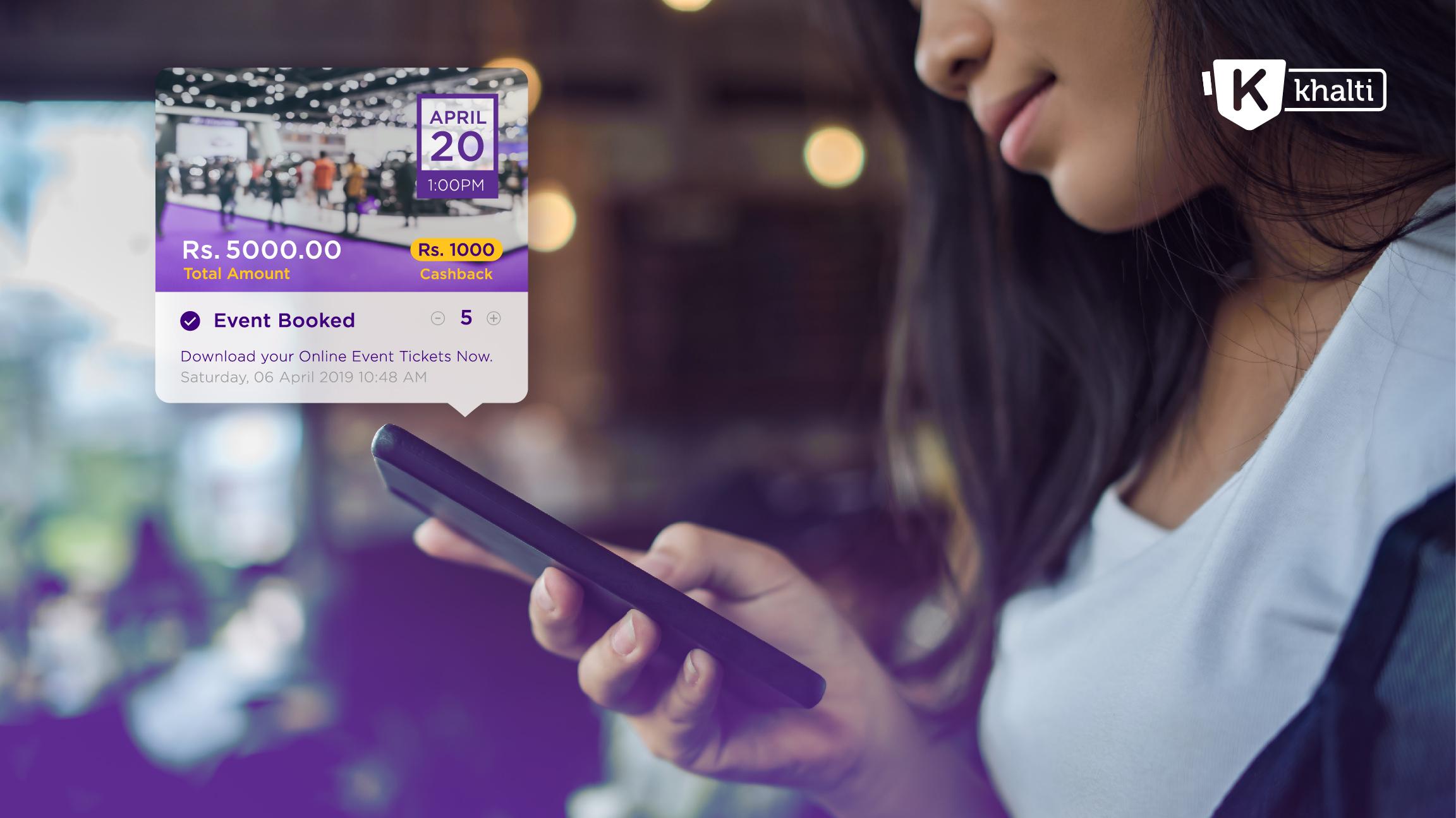 'खल्ती डिजिटल वालेट'ले शुरू गर्यो क्यु–आर कोडमा आधारित इभेन्ट्स टिकेटिङ सेवा