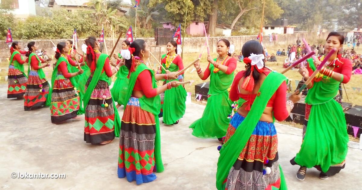 पश्चिम तराईको लोकसंस्कृति : सखियाभित्रको रहस्यलीला र दशैंको रौनक