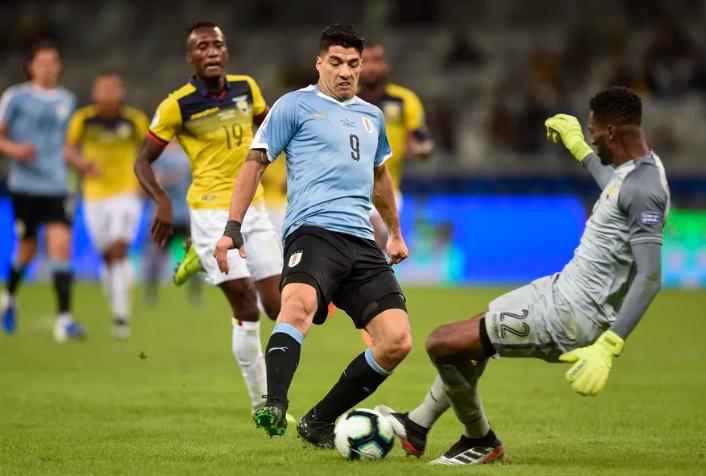 कोपा अमेरिका : स्वारेज र काभानीको गोलले उरुग्वे विजयी