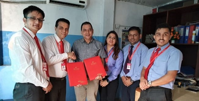 एनआईसी एशिया बैंक र मर्सि सिटी हस्पिटल बुटवलबीच सम्झौता