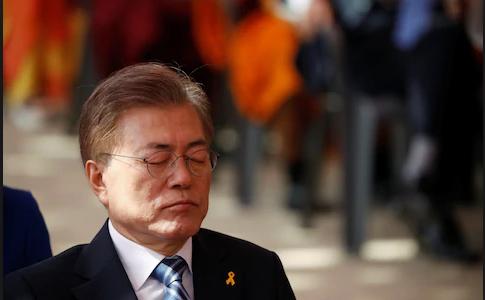 कोरियाली प्रायद्वीपमा नयाँ भूराजनीतिक खेल, अप्ठ्यारोमा दक्षिण कोरियाका राष्ट्रपति मून
