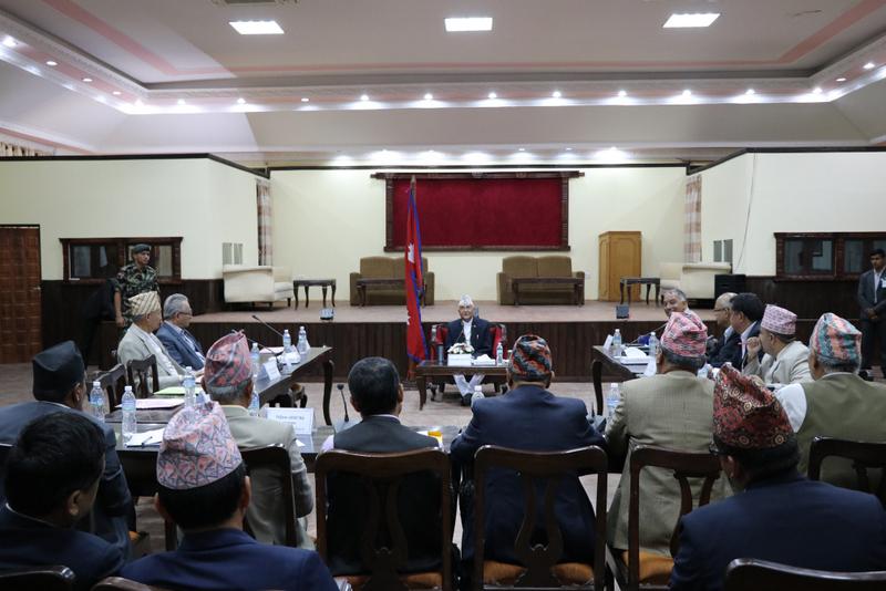 प्राधिकरण निर्देशक समितिको बैठक : पुनर्निर्माणका लागि १ खर्ब ५६ अर्ब बजेट