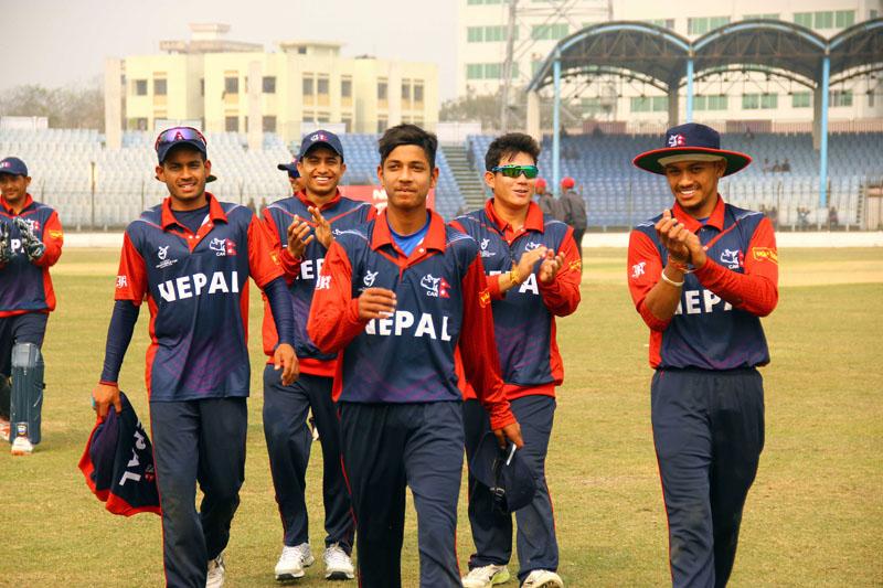 यू–१९ एशिया कप क्रिकेट : नेपालको सान्त्वना जित