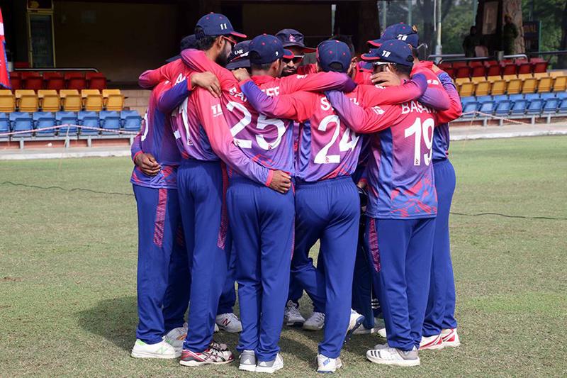 नेपाली क्रिकेट टोली स्वदेश फिर्ता