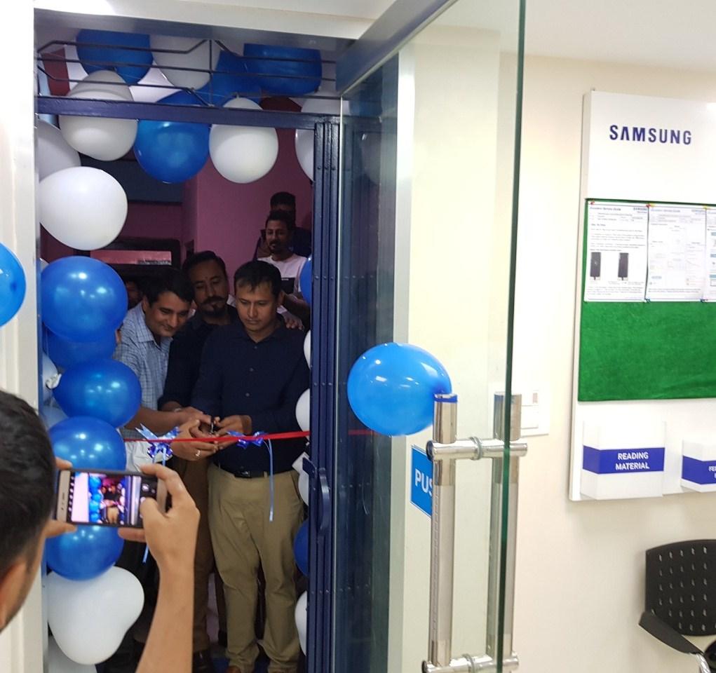 दमौलीमा सामसुङको आधिकारिक सेवा केन्द्र सञ्चालनमा