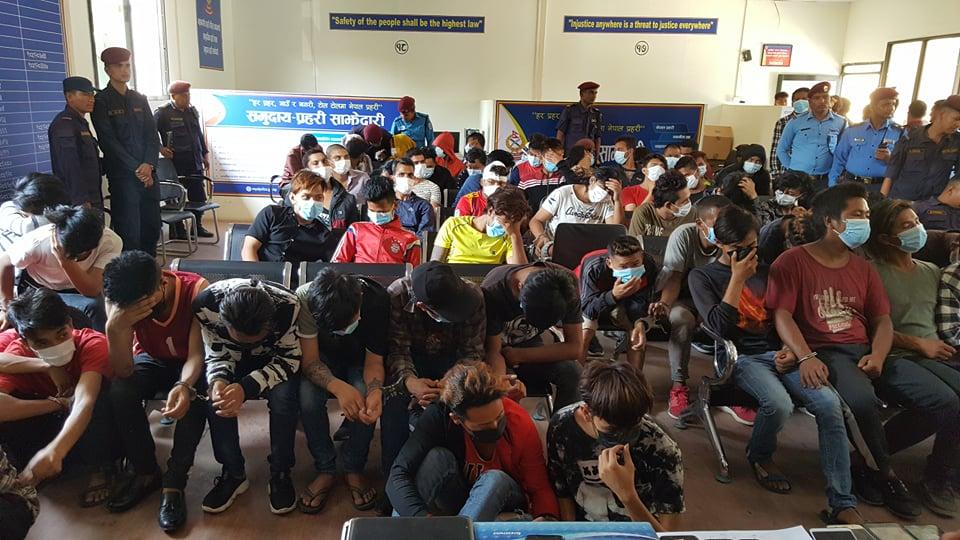 काठमाडौंबाट ८२ जना पाकेटमार पक्राउ