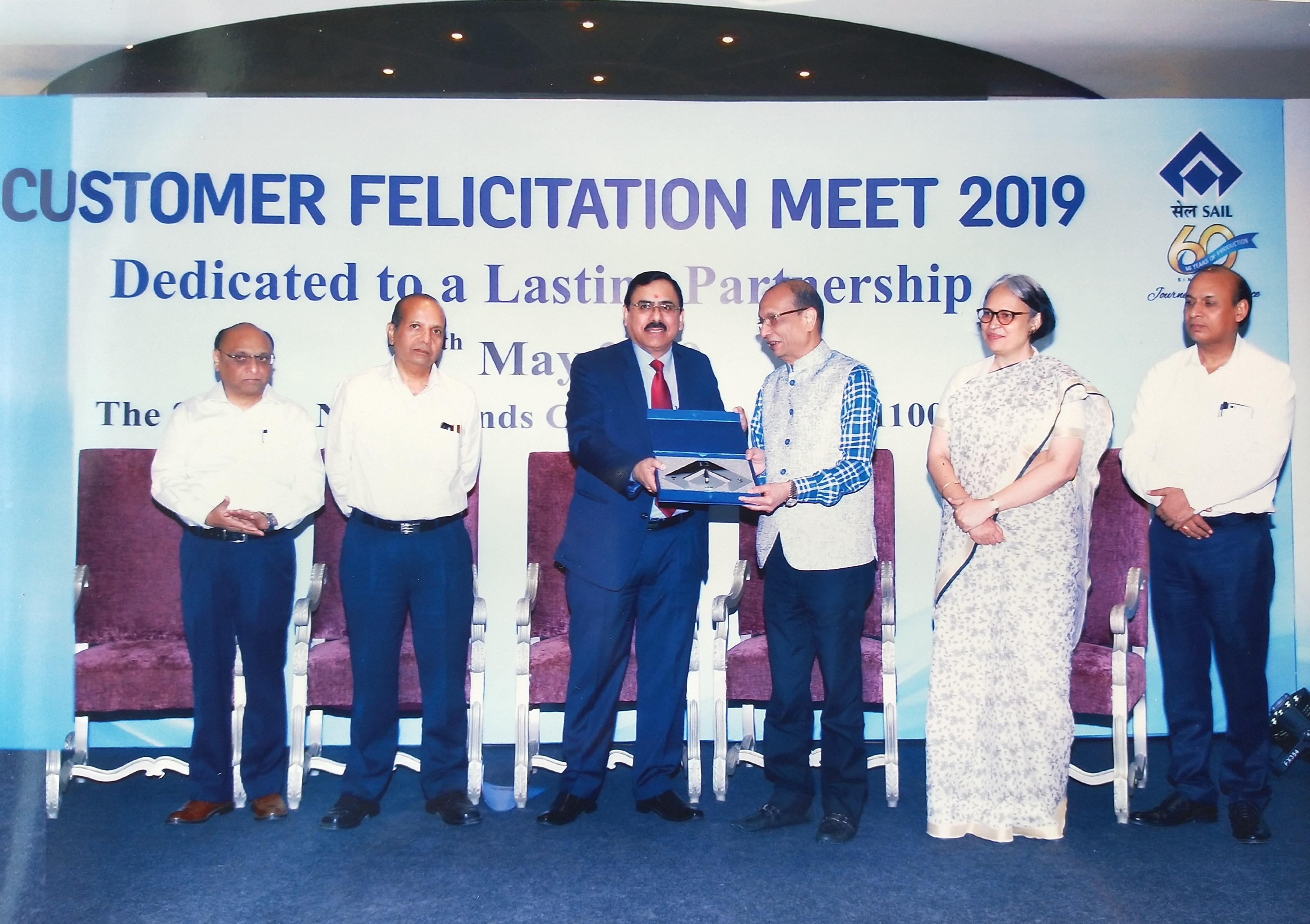 जगदम्बा स्टील्स् भारतको प्रतिष्ठित स्टील संगठनद्वारा सम्मानित