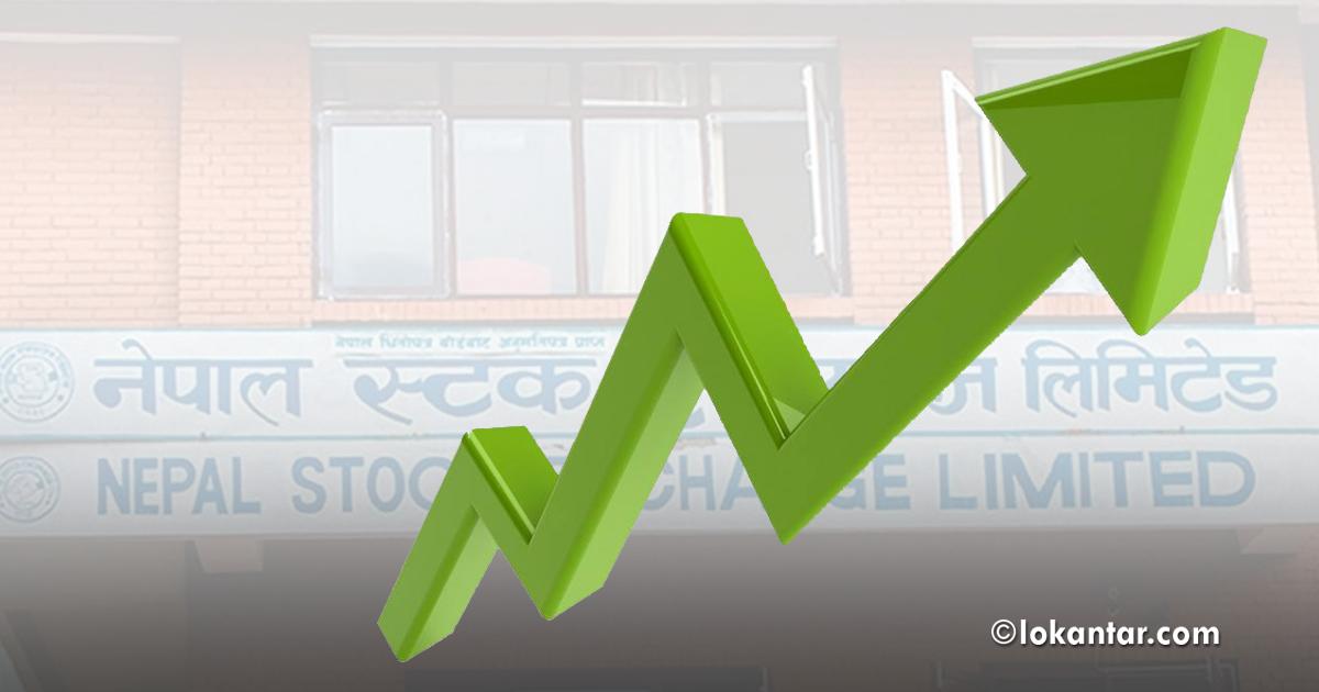 शेयर बजारमा सामान्य सुधार, ३.७५ अंकले बढ्यो नेप्से