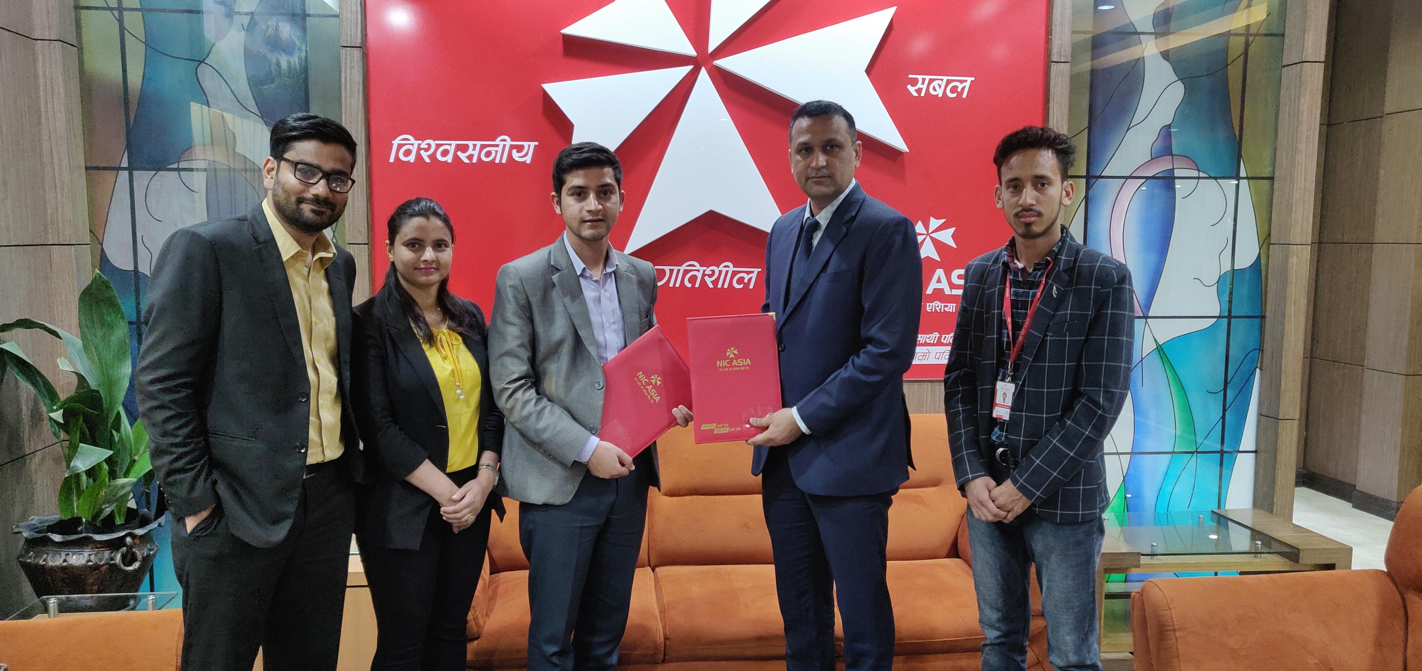 एनआईसी एशिया बैंक र भेनस हस्पिटलबीच सम्झौता
