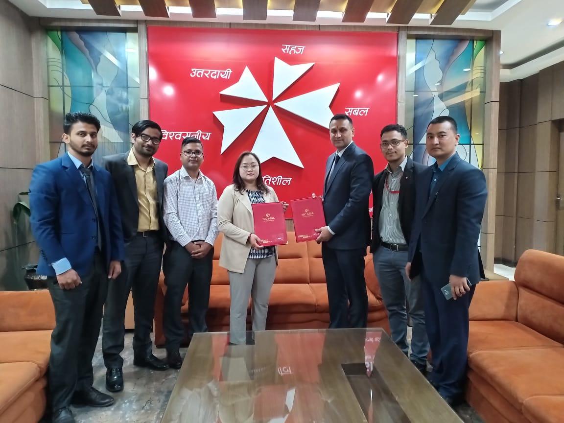 एनआईसी एशिया बैंक र अल्का अस्पतालबीच सम्झौता