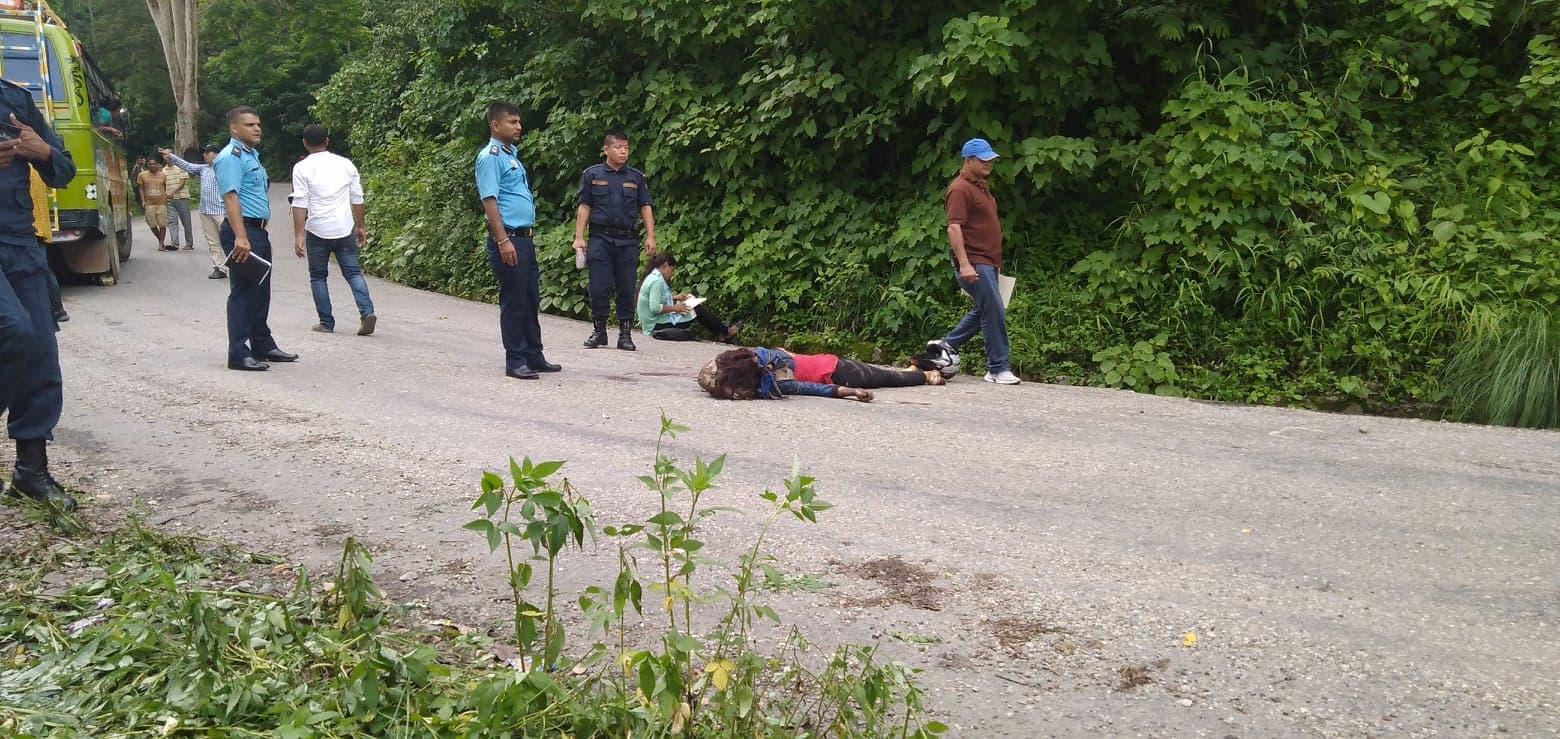 सुर्खेतमा मोटरसाइकल दुर्घटना हुँदा १ जनाको मृत्यु