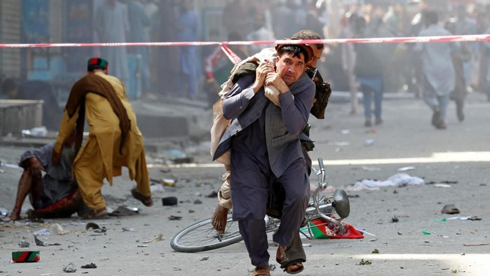 अफगानिस्तानमा स्वतन्त्रता दिवस मनाइँदै गर्दा बम विस्फोट, ३४ जना घाइते