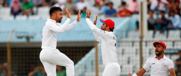 टेस्टमा अफगानिस्तानले रच्यो इतिहास :बंगलादेशलाई उसकै भूमिमा २२४ रनले हरायो