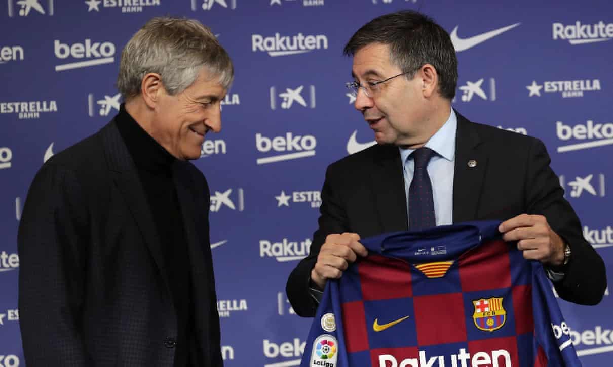 क्लब चलाएको तरिकाप्रति असन्तुष्टि जनाउँदै बार्सिलोनाका ६ बोर्ड सदस्यले दिए राजीनामा