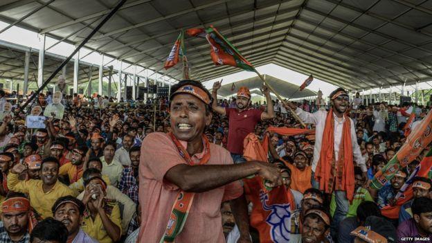 भारतमा लोकसभा निर्वाचन : कस्तो छ भाजपाको स्थिति ?