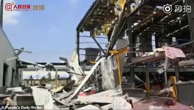 चीनको रासायनिक कारखानामा विस्फोट, ४ जनाको मृत्यु