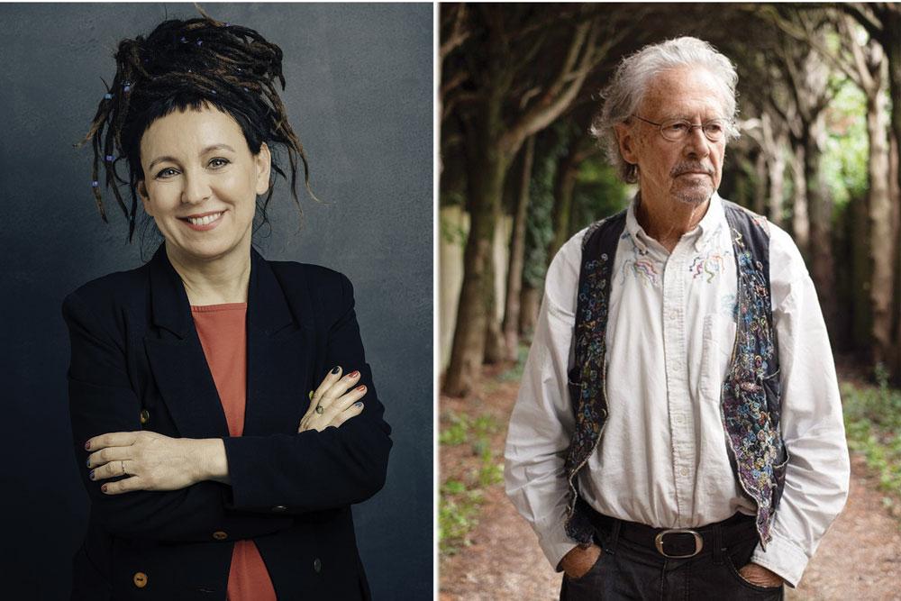 नोबेल साहित्य पुरस्कार विजेताद्वय : कथानकमा अब्बल पकड