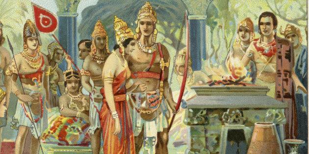 महाभारतकी अमर पात्र द्रौपदीले किन पाँच पति पाइन् ?