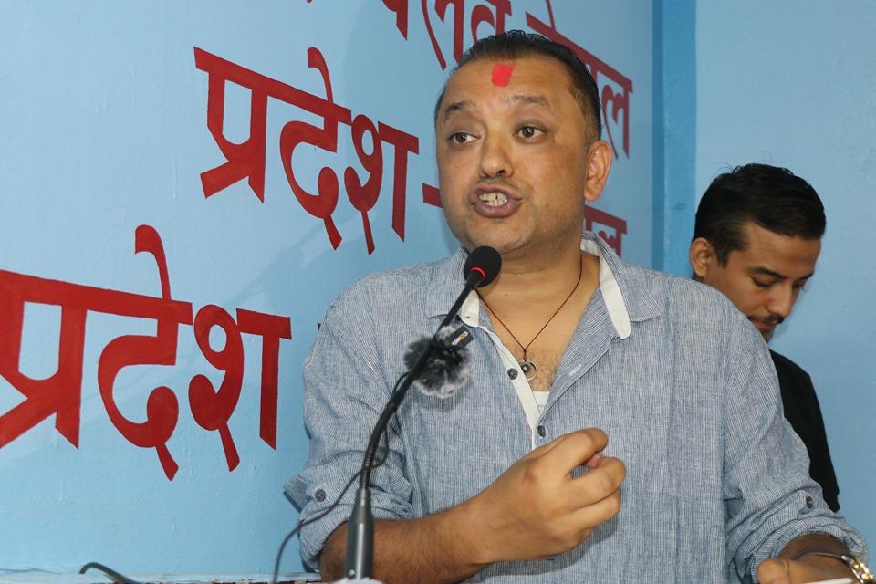 सभामुख महराले पदबाट अलग रही घटनाको छानबिनमा सघाउनुपर्छ : गगन थापा