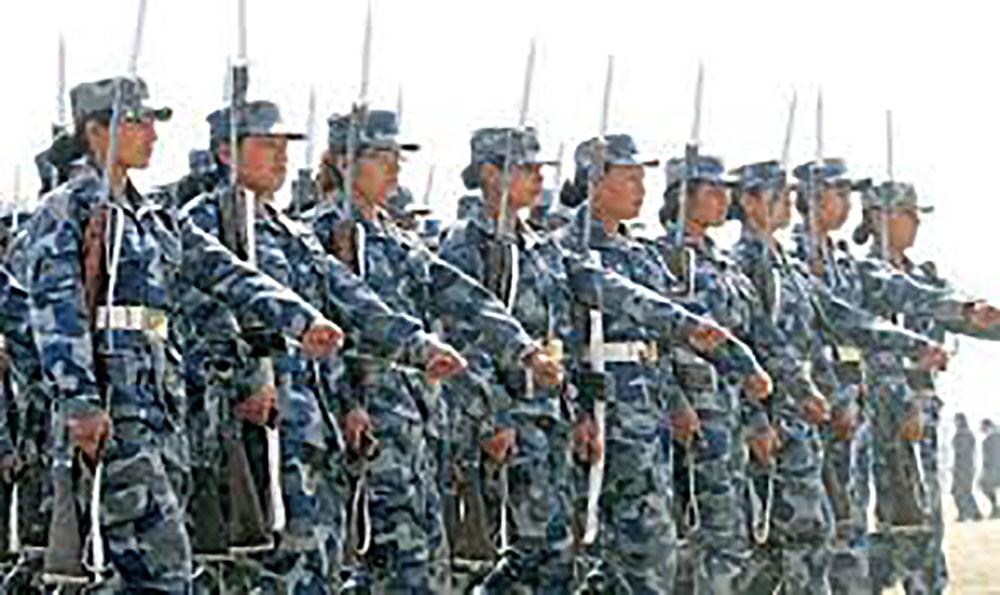 नेपाल-चीन संयुक्त सुरक्षा अभ्यास हुने