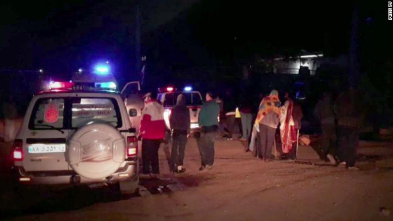 इरानमा भूकम्प गएपछि ५ जनाको मृत्यु