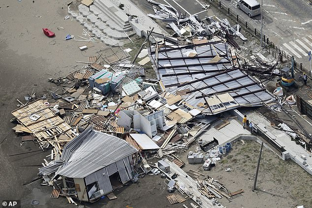 जापानमा आँधीका कारण मृत्यु हुनेको संख्या ५६ पुग्यो, नेपालीको तथ्यांक छैन