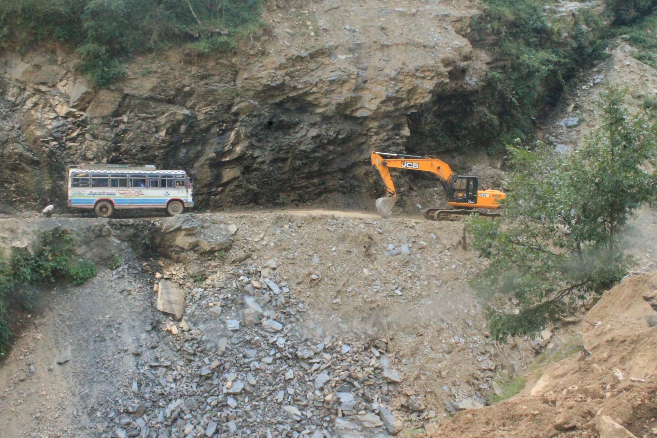 कालीगण्डकी कोरिडोरको मालढुंगा–बलेवा सडकको निर्माण, अब हस्तान्तरण गरिने