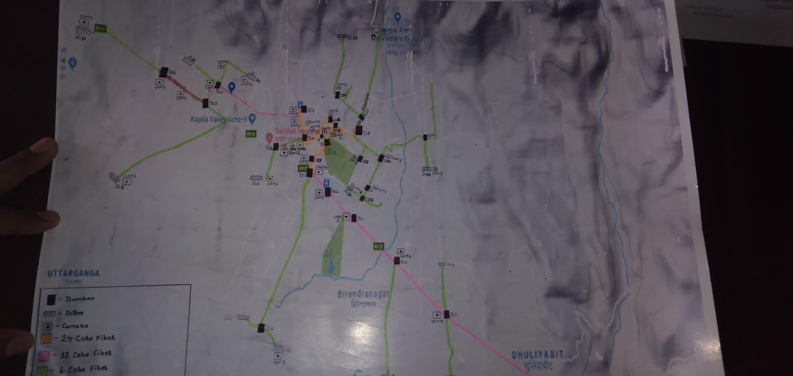 कर्णालीको राजधानी सुरक्षित बनाउन सीसी क्यामेरा जोडिदै,१ करोड ३० लाख लाग्ने