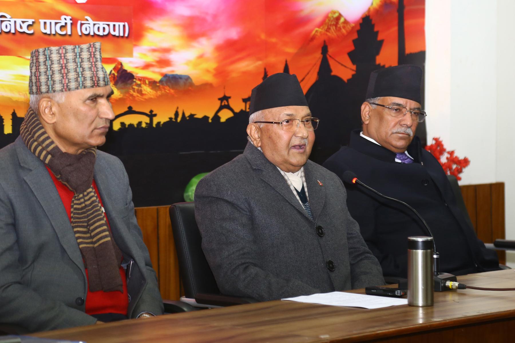 नेकपाका शीर्ष नेता धनगढीमा