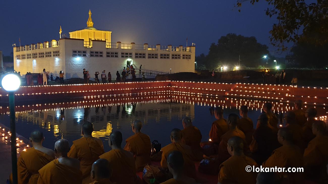 झिलिमिली बन्यो लुम्बिनी, रातको समयमा पनि ढुक्कसँग घुम्न सकिने